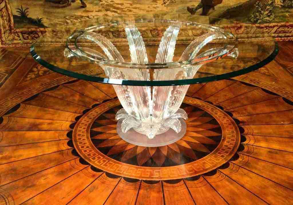 tavolo Lalique // pavimento Gabriele Capello
