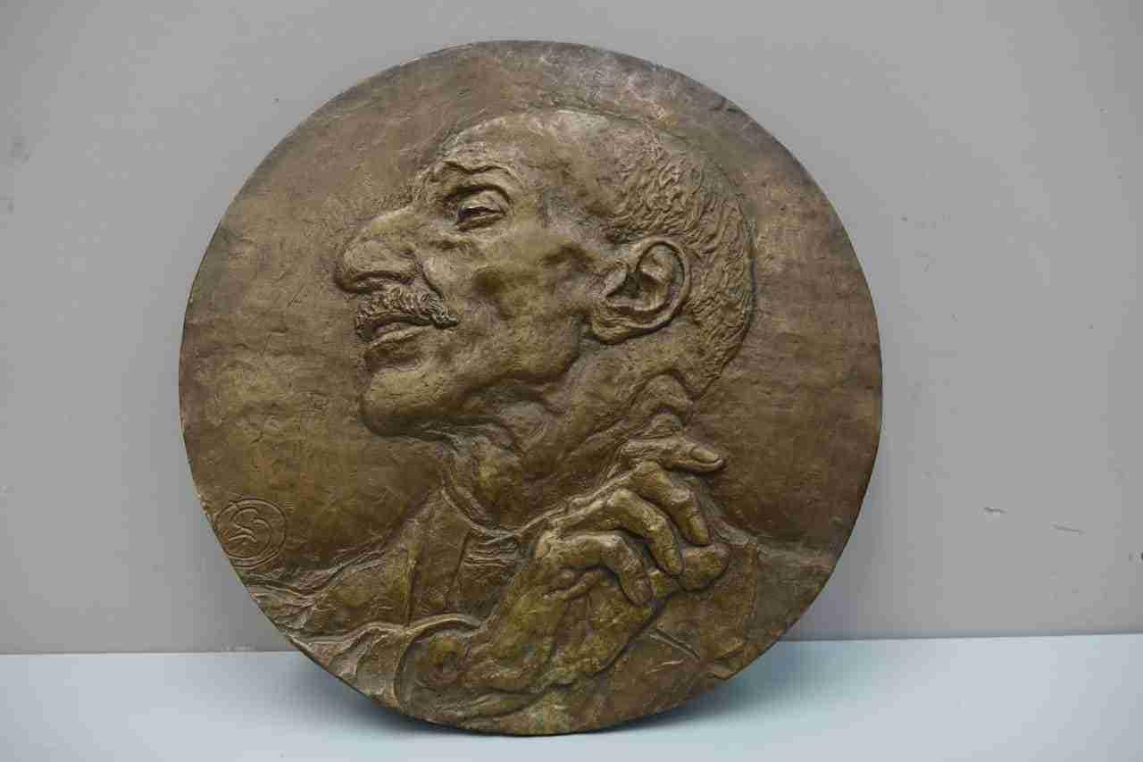 bronzo Leonardo Bistolfi