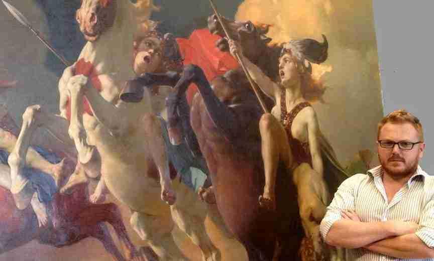 la Cavalcata delle Valchirie - Cesare Viazzi