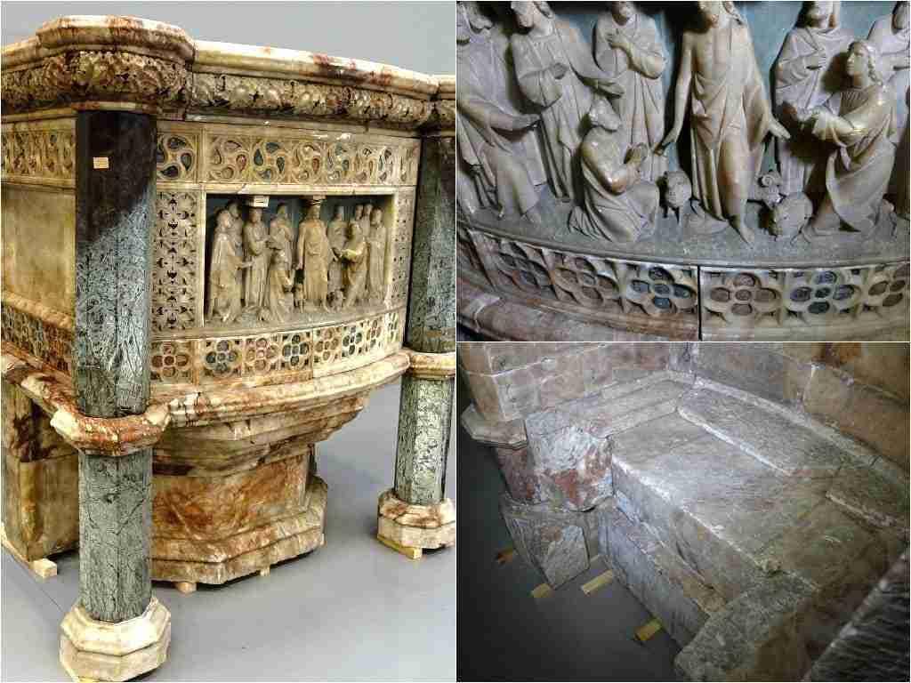 Opera Fiorentina alabastro e marmi pregiati