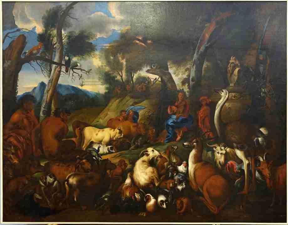 Orfeo incanta gli animali ambito castiglione il grechetto