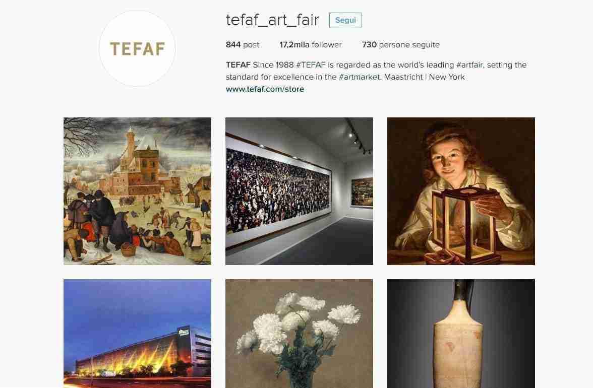 TEFAF SHOWCASE 10 – 19 MARZO 2017 MAASTRICHT