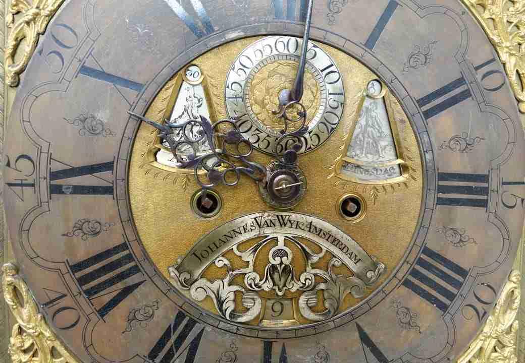 Orologio pendolo johannes van wyic amsterdam