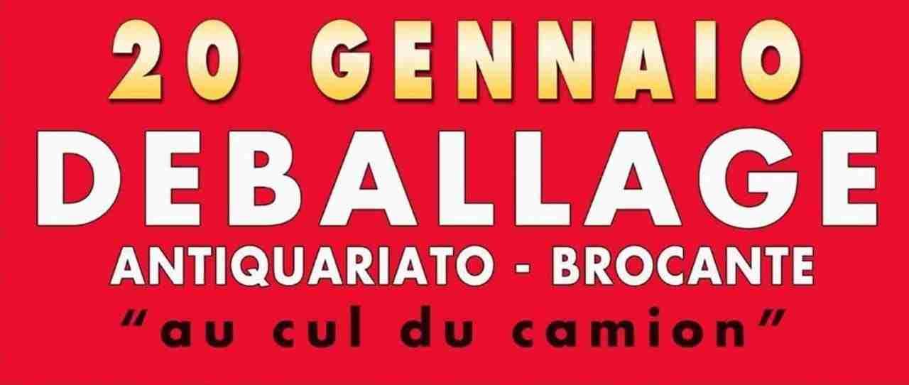 Bid Deballage Bologna VENERDì 20 GENNAIO 2017