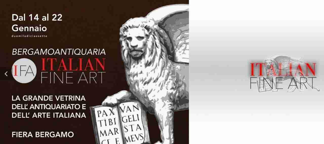 IFA – Italian Fine Art  Bergamo antiquaria 14-22 gennaio 2017