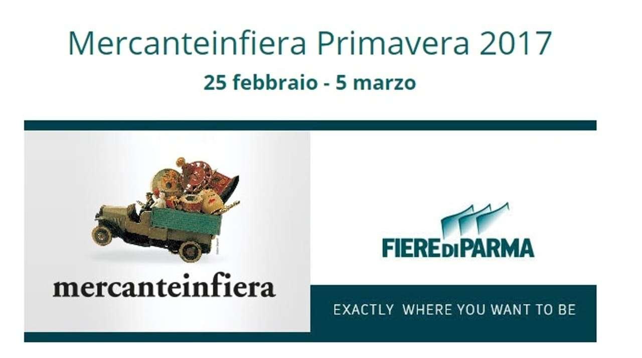 Mercante in fiera primavera Parma 25 febbraio – 5 marzo 2017 (commerciati 23-24 febbraio)