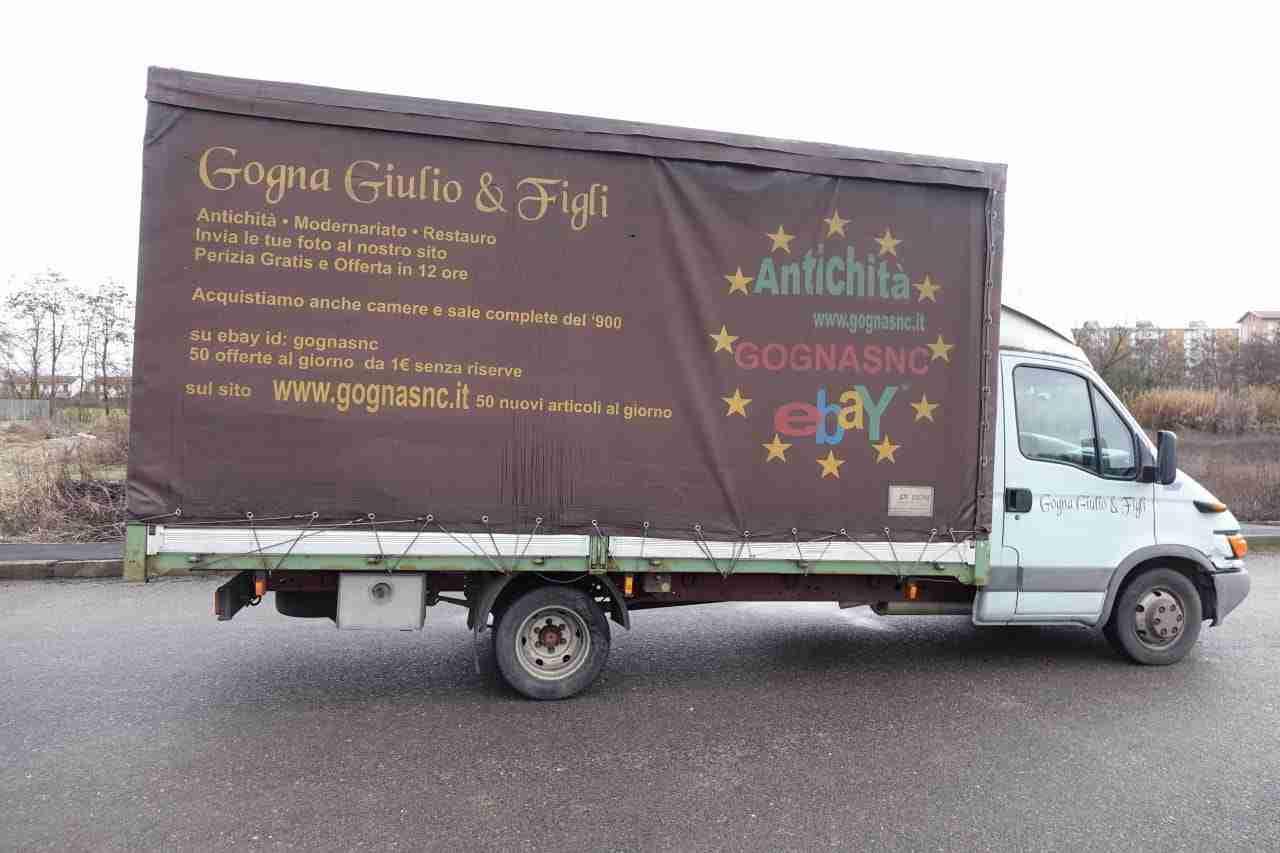 Camion iveco daily 35 c13 cassone telonato patente b ebay - Portata massima camion italia ...
