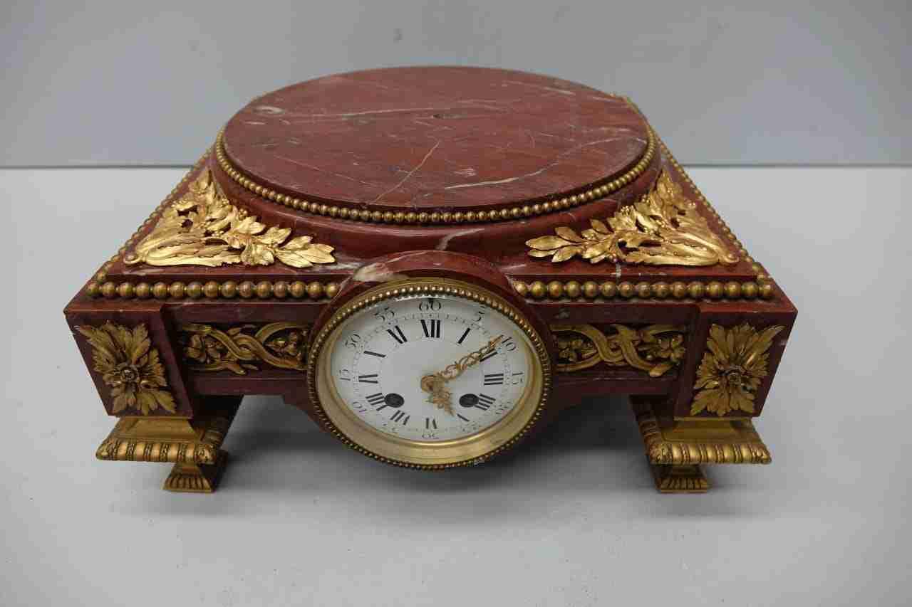 Base con orologio per vaso o scultura