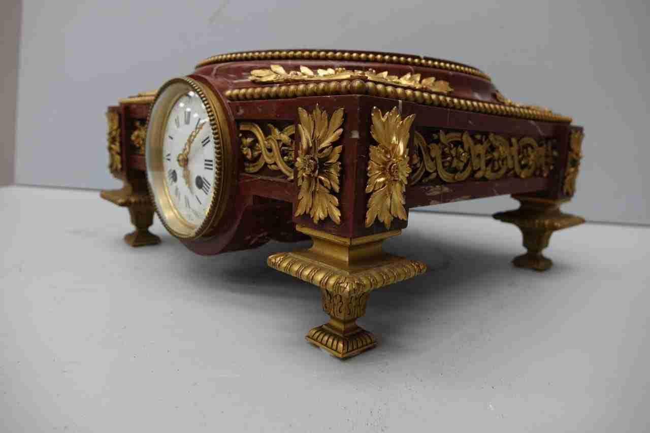 base-marmo-rouge-bronzo-orologio-13