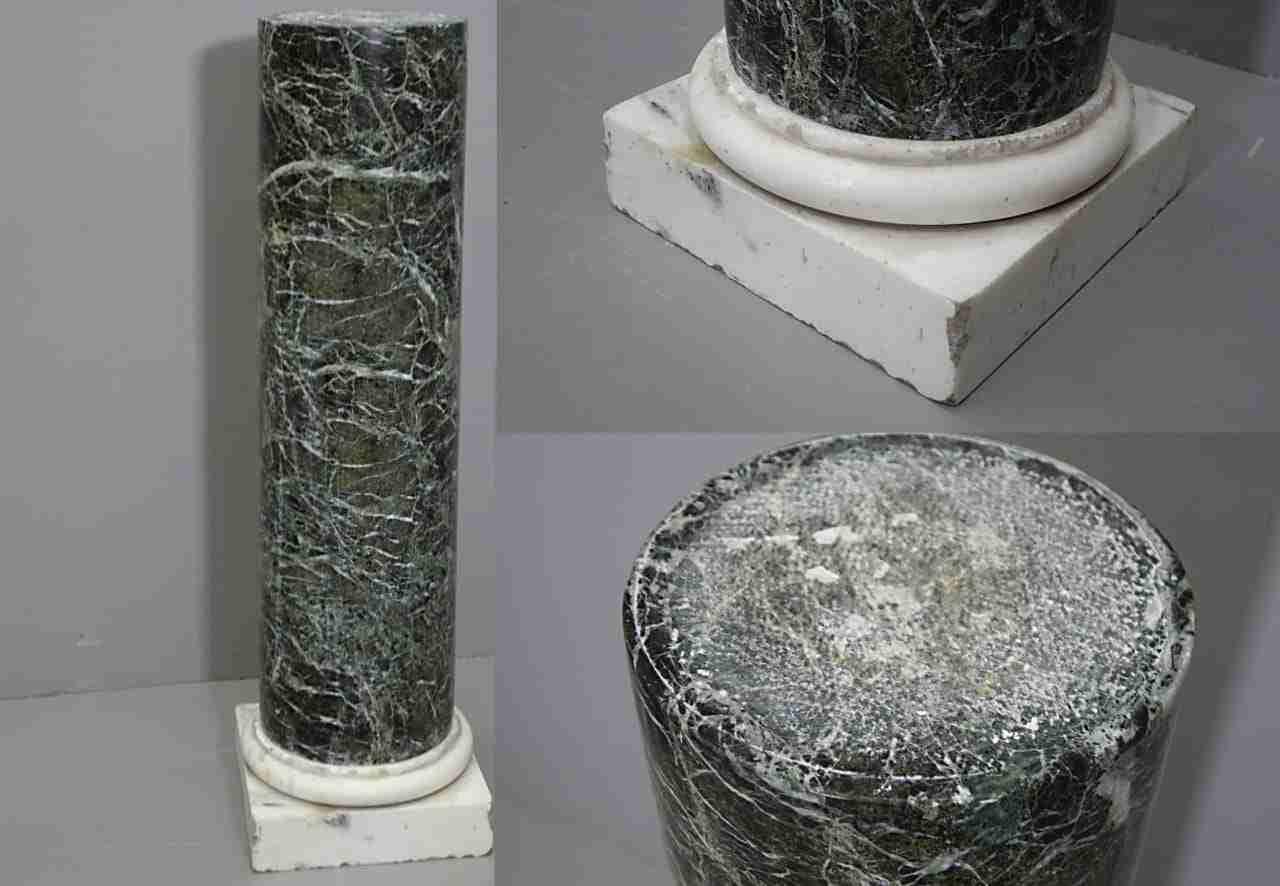 colonna marmo verde alpi  0270025-12