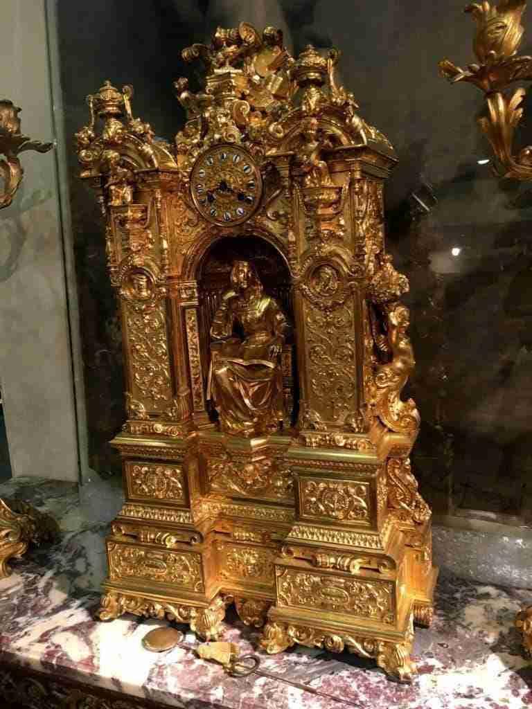 Orologio bronzo dorato Napoleone III 0270005