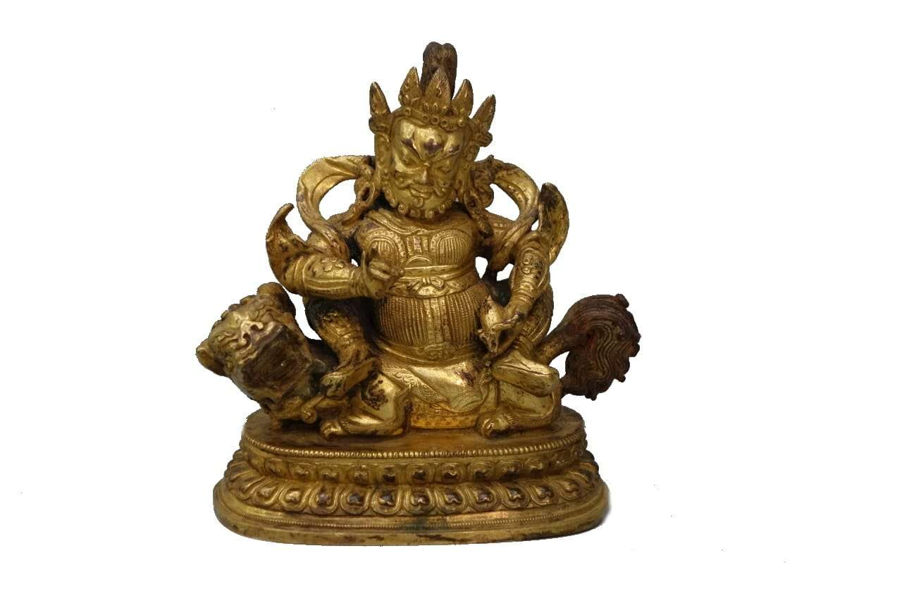 scultura in bronzo divinita' orientale buddha