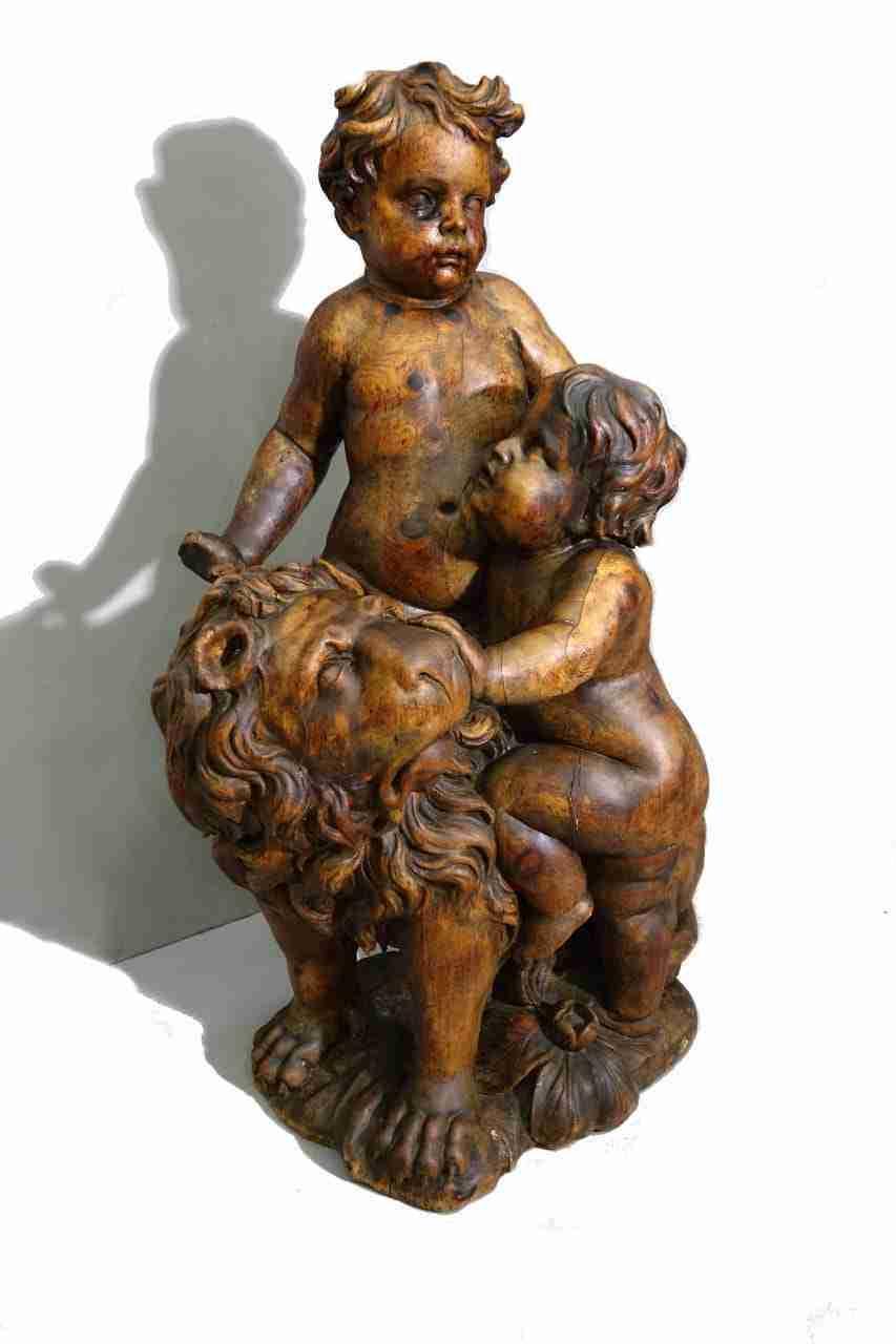 scultura-lignea-putti-5-copia