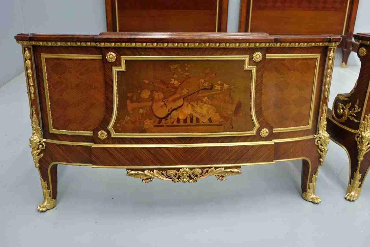 Letto matrimoniale gemelli bronzdo dorato firmato francois - Scorpione e gemelli a letto ...