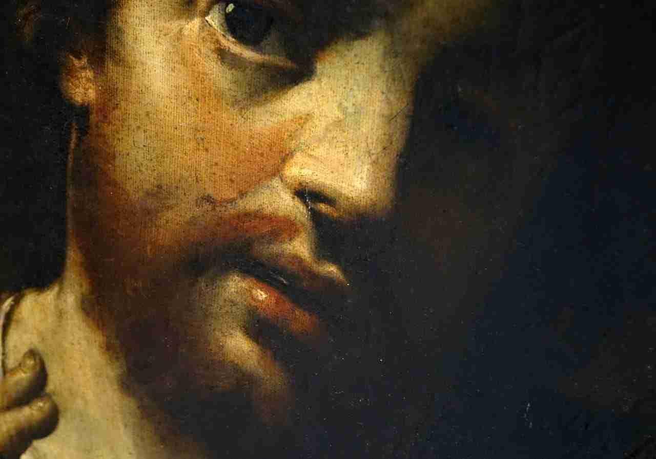 """Dipinto """"Ecce Homo"""" epoca seicento  0479013"""