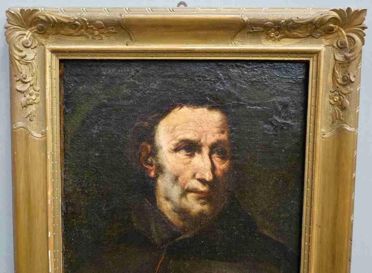 dipinto olio su tela ritratto 600 genovese 0470010