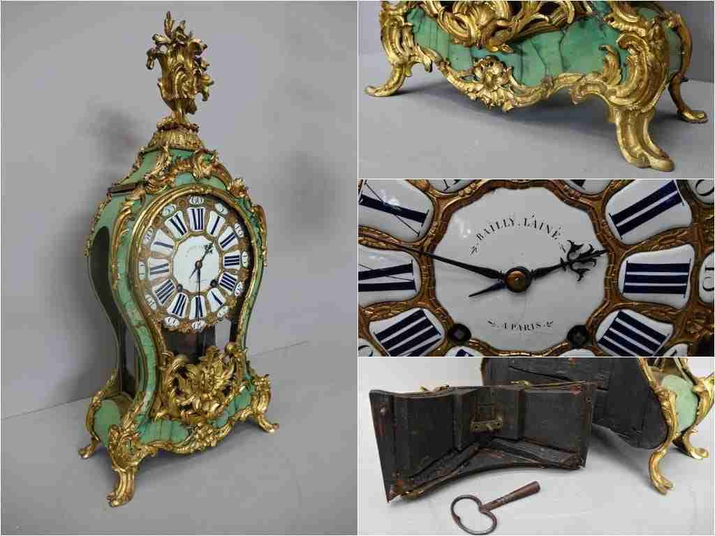 Orologio cartel  francese firmato Bailly L'ainé Paris