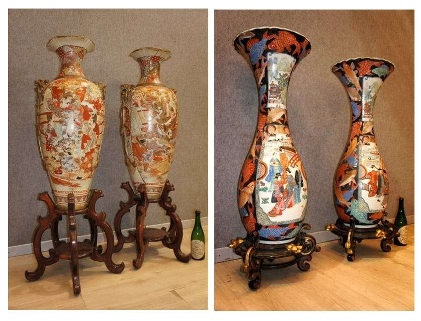 Arte orientale for Vasi giapponesi