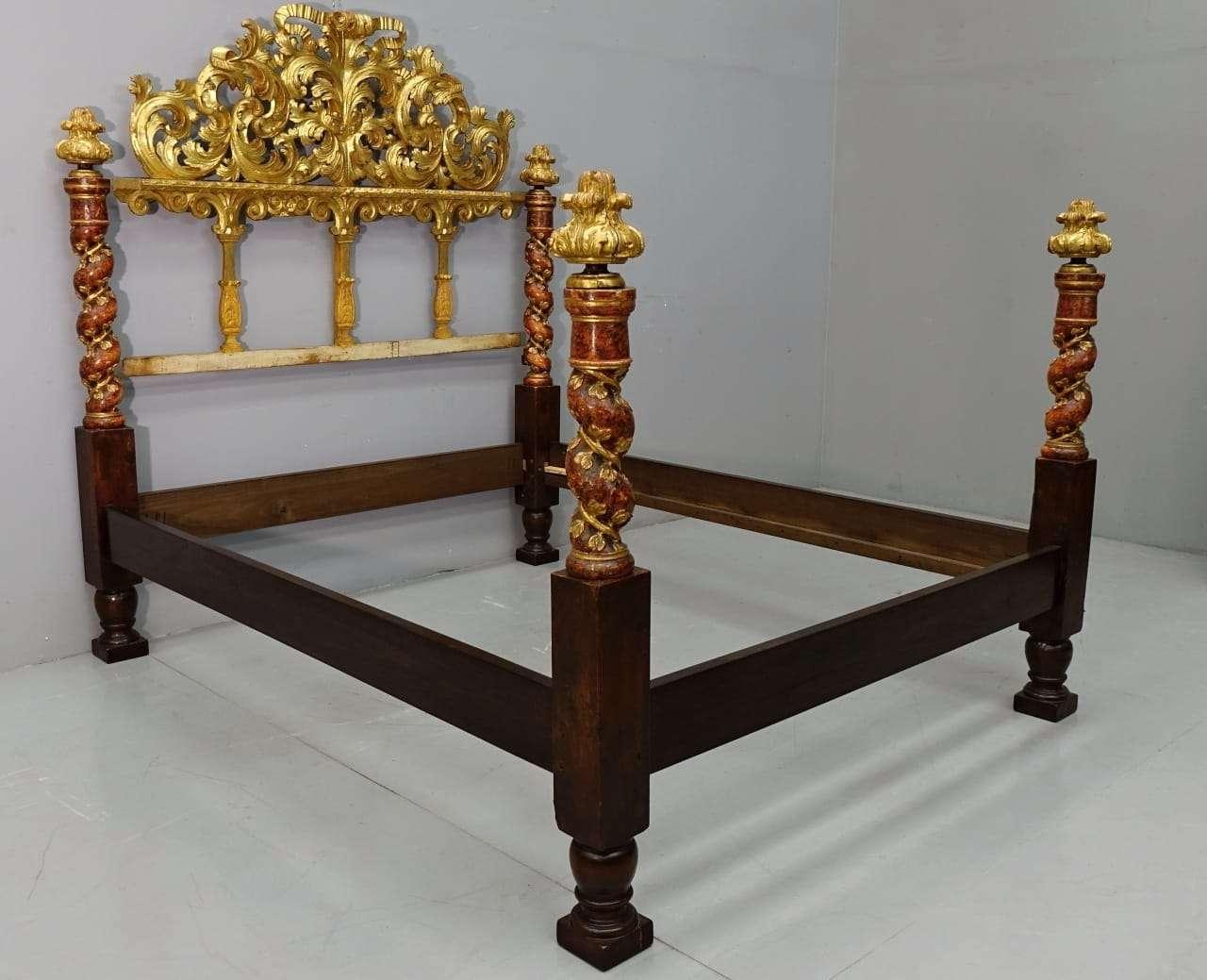 Letti A Baldacchino Antichi : Letti antichi mobili antichi antiquariato su anticoantico
