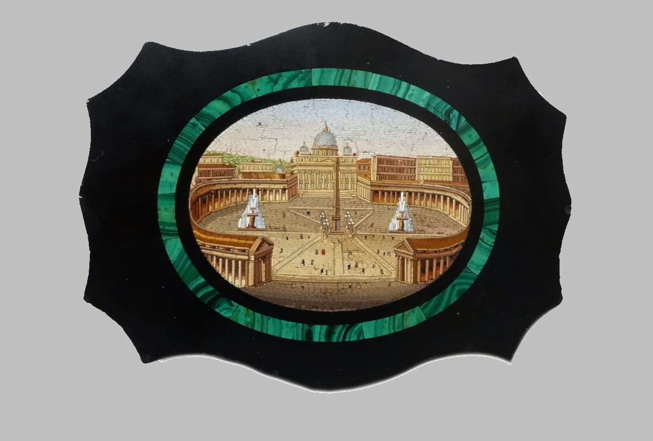 Piazza San Pietro Roma Micromosaico vaticano