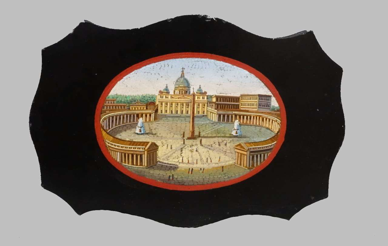 Micromosaico vaticano Piazza San Pietro Roma