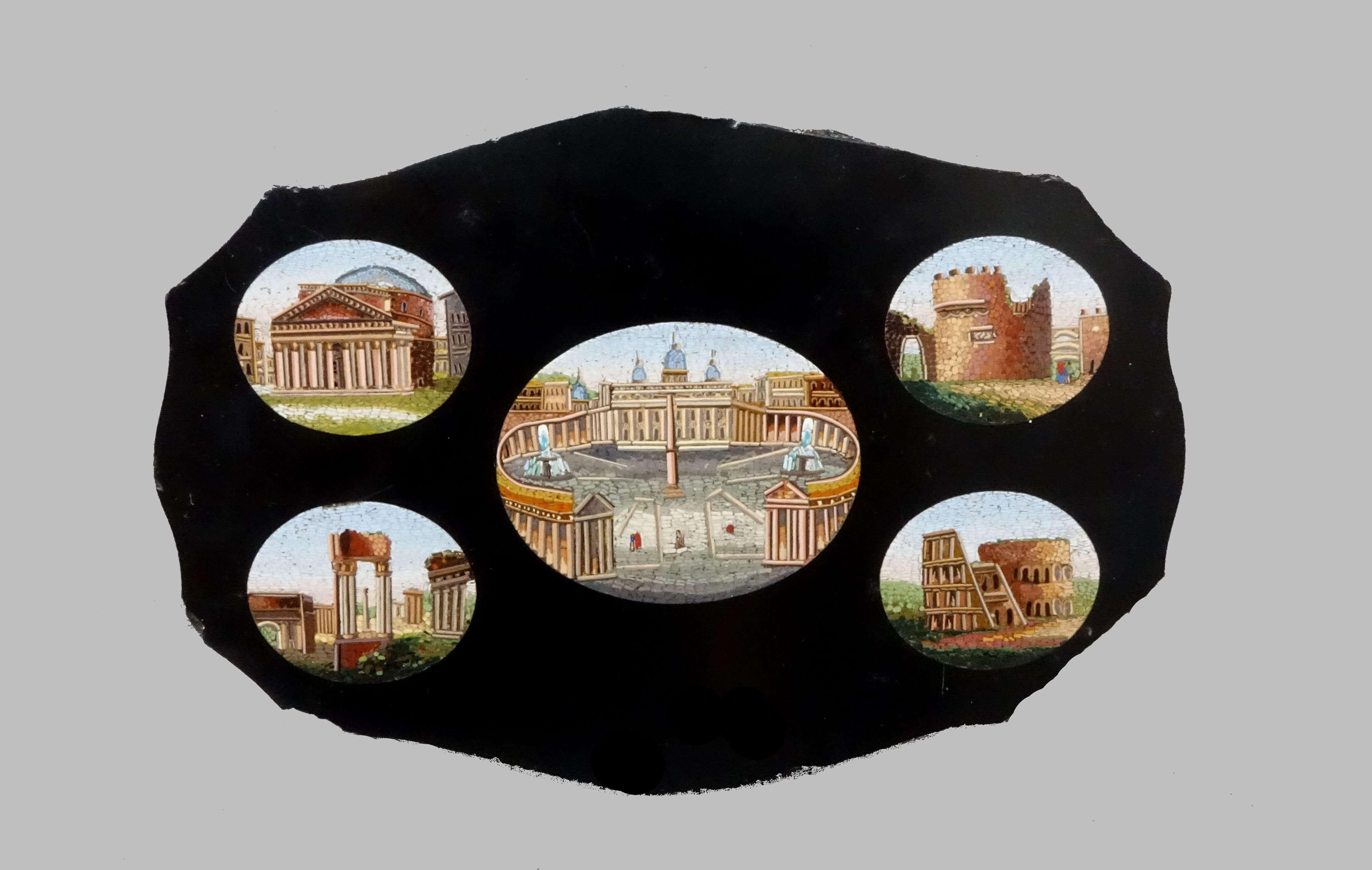 Micromosaico vaticano dei monumenti romani