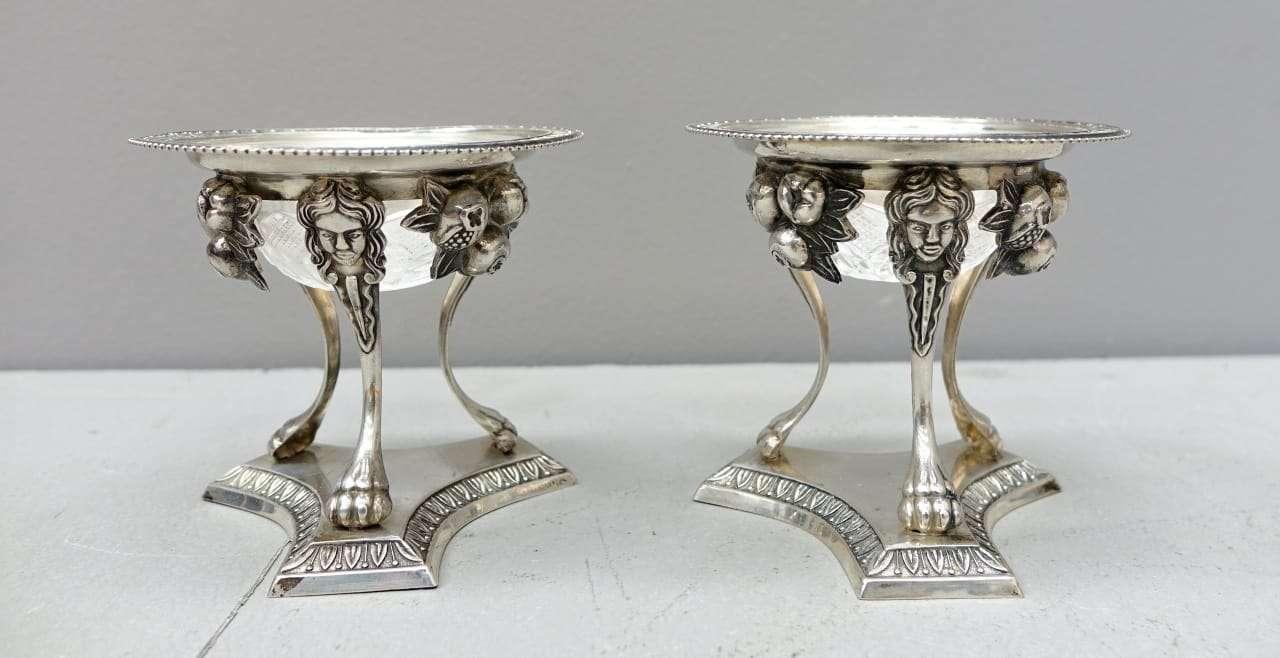 pendant Salini fine settecento argento punzonato e cristallo  0717015-10