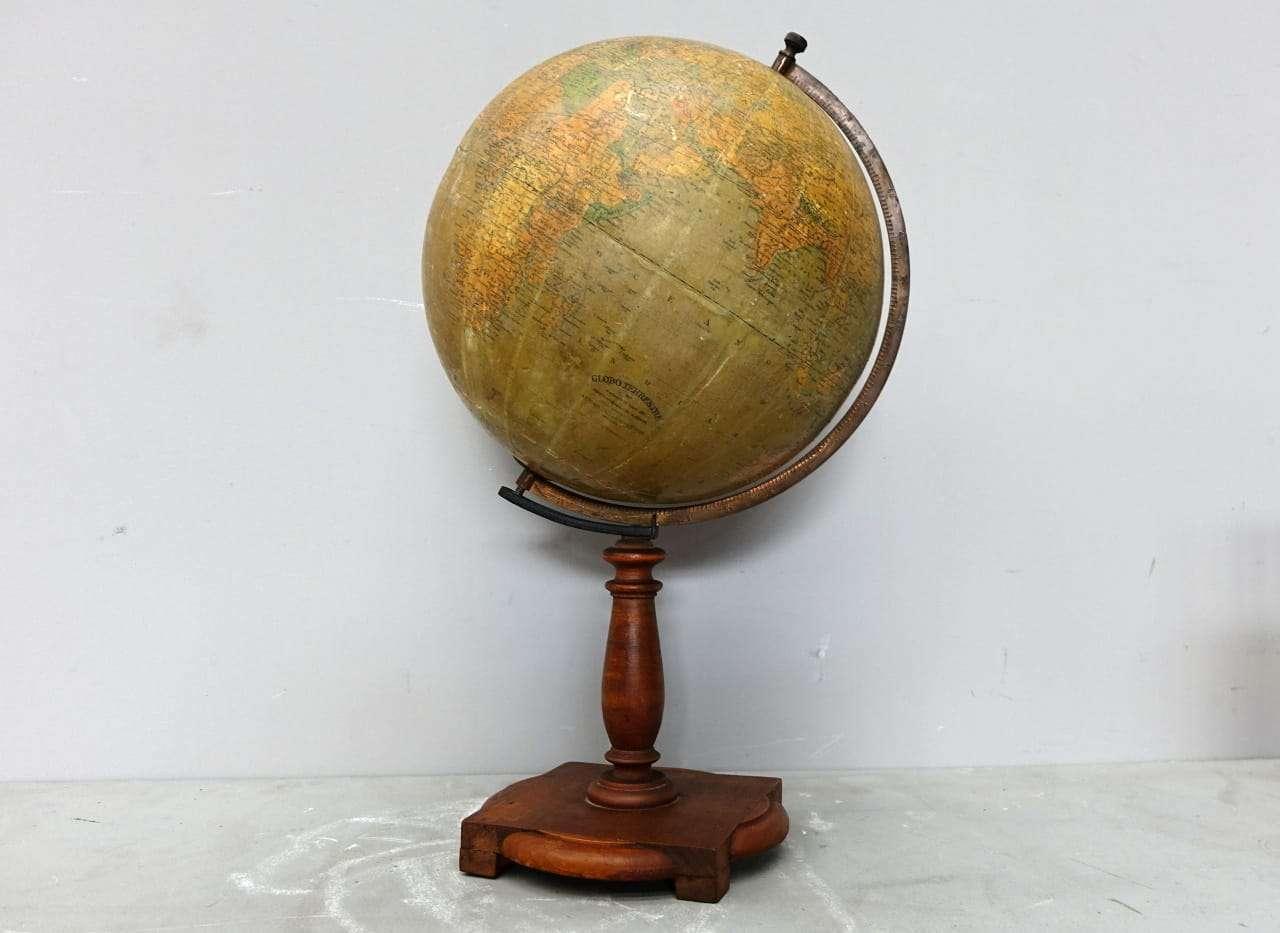 Mappamondo globo terrestre A. Minelli