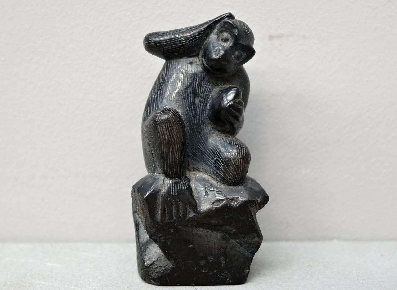 Scultura cinese scimmia