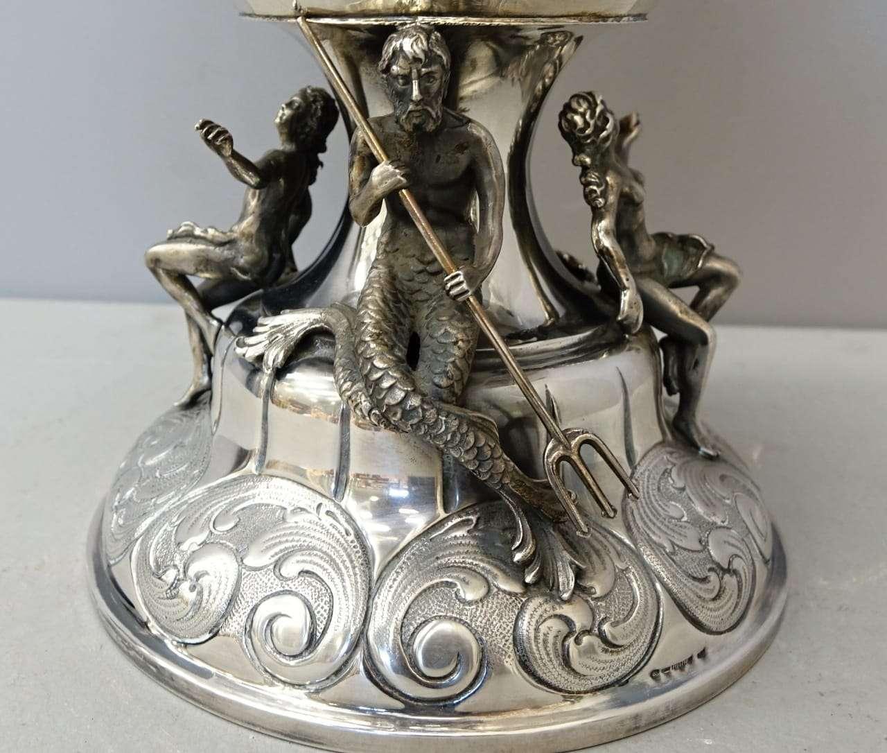 Vaso argento massiccio punzonato  1079001