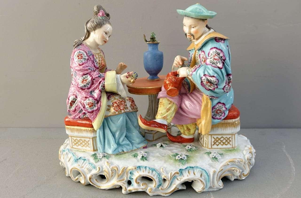Soprammobile ceramica orientale