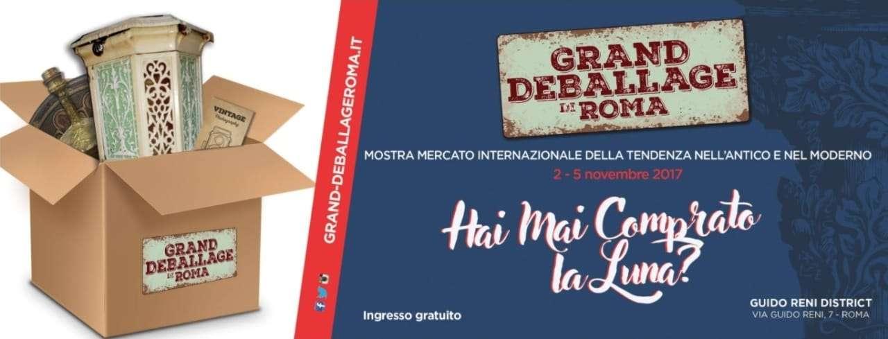 Grand deballage di Roma 2 – 5 novembre 2017