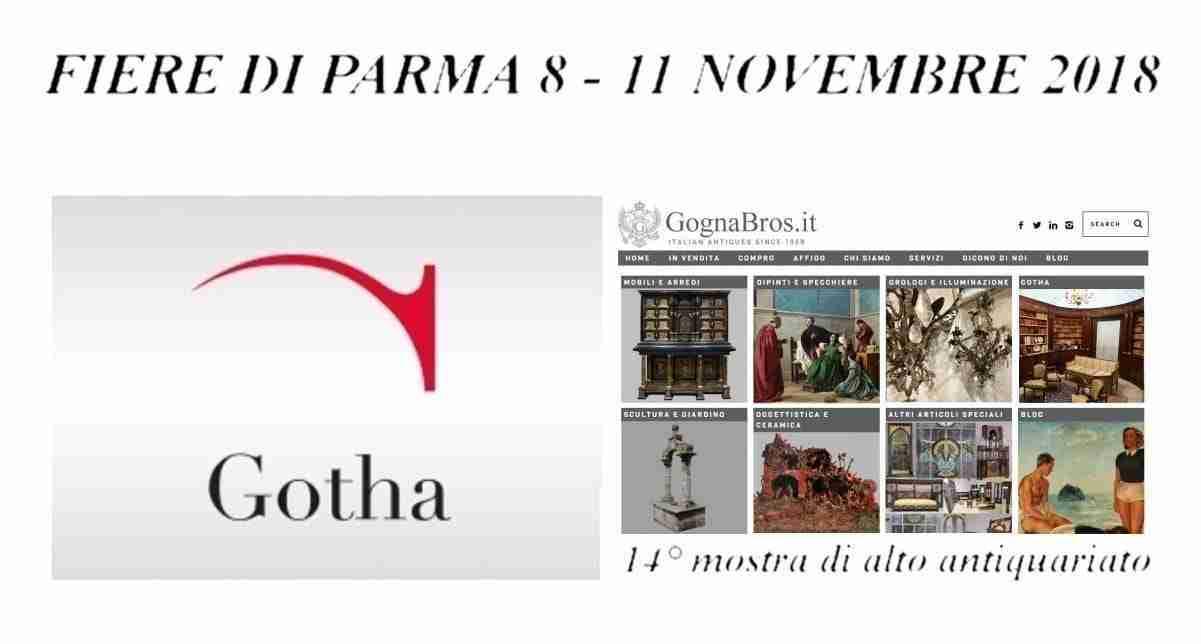 Gotha 14° Mostra di alto Antiquariato Fiere di Parma