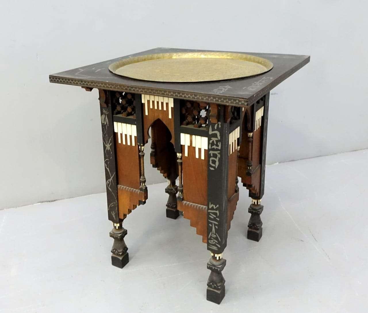 Tavolino Carlo Bugatti Eugenio Quarti