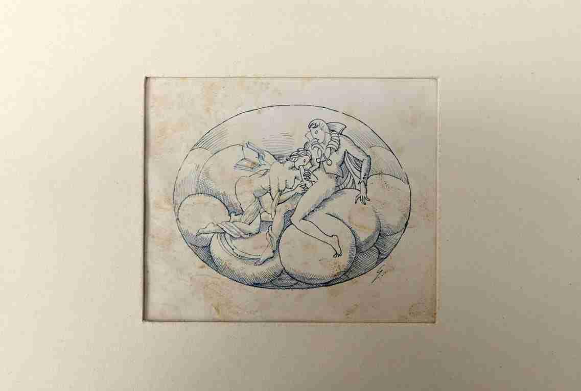 Disegno erotico Gio Ponti  1117008