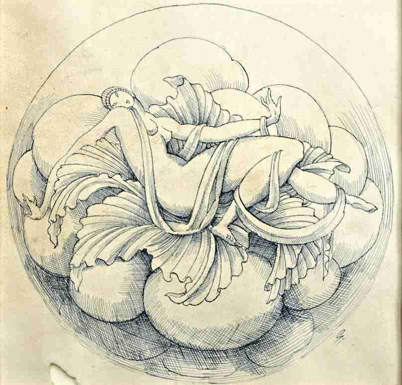 Disegno design Gio Ponti  1117009