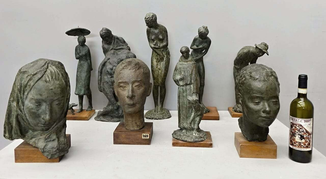 Bianca Tavella scultura sculture in fusione di bronzo 0218001