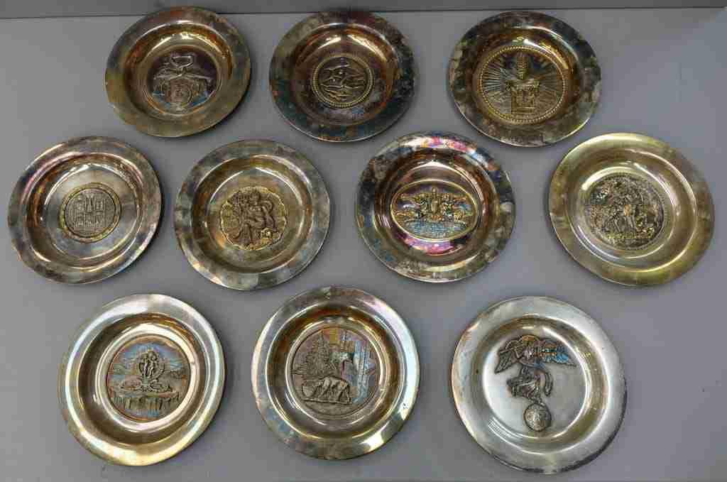 Argenteria Stefani piatti in argento