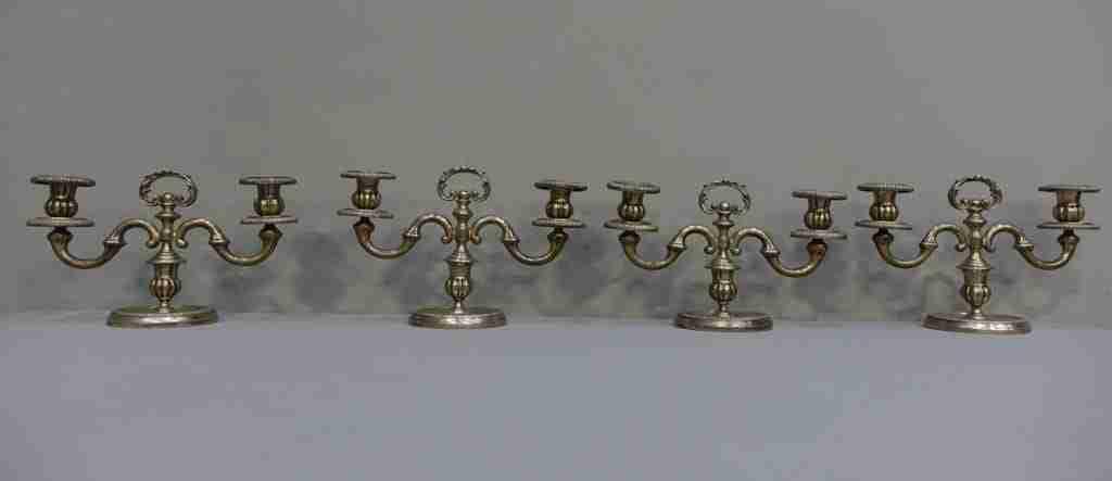 Argento Messulam candeliere argento massiccio