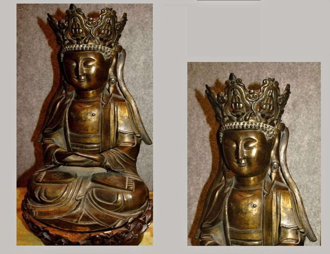 Buddha in bronzo epoca 600