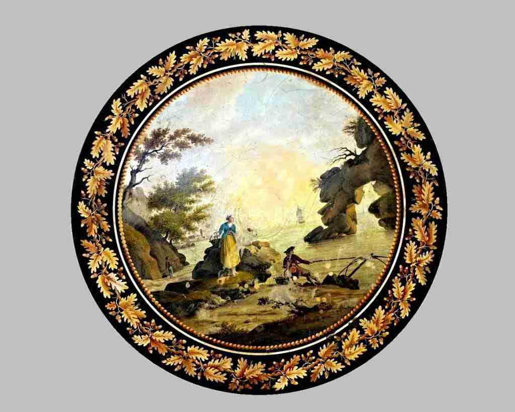 scagliola Pietro della Valle Livorno neoclassico grand tour 0418025