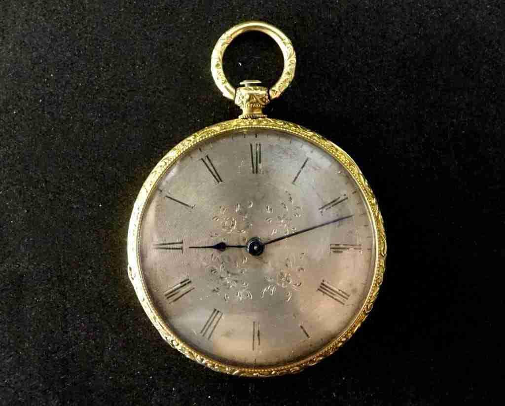 Orologio da tasca Paris le Roy in oro