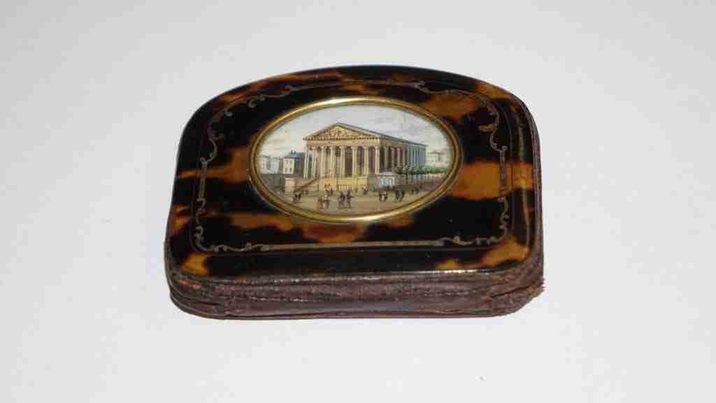 scatola borsellino tartaruga miniatura