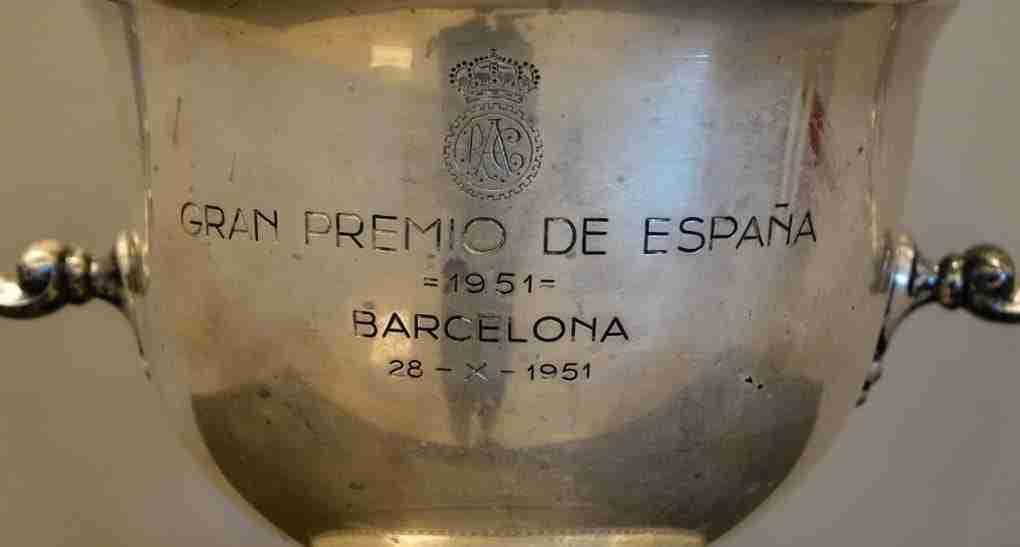 Coppa d'argento gran premio de espana 1951 barcelona