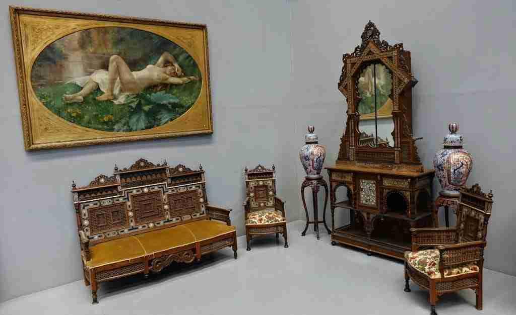 Salotto mobile divano poltrone Giuseppe Parvis