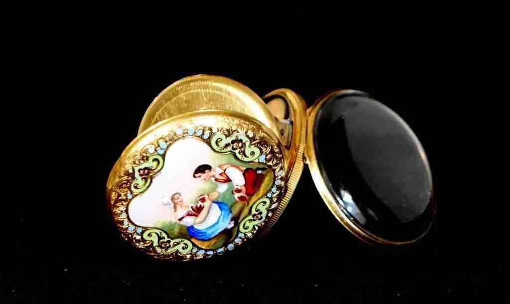 Orologio da tasca Allegrone & Emery Ginevra