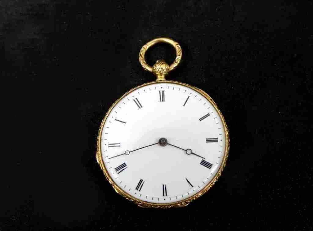 Orologio da tasca in oro Svizzero