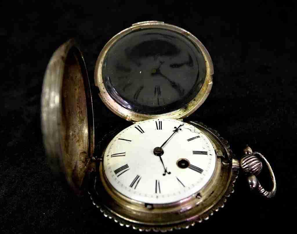 Orologio da tasca inglese firmato Eaton London