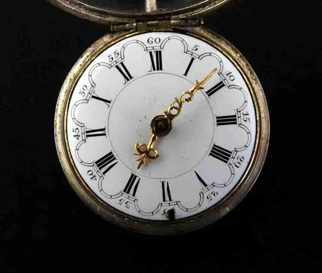 Orologio da tasca argento Wilter London epoca 700