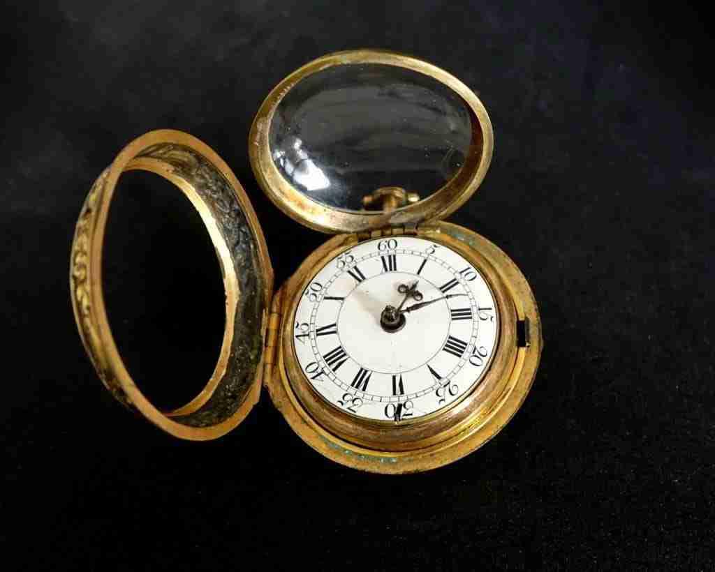 orologio da tasca firmato Melling London
